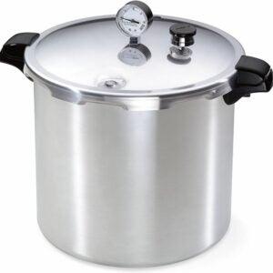 The Best Stovetop Pressure Cooker Option: Presto 01781 23-Quart Pressure Canner and Cooker