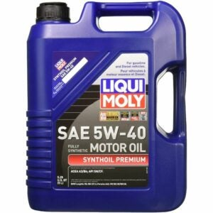 The Best Synthetic Oil Option: Liqui Moly 2041 Premium 5W-40 Synthetic Motor Oil