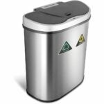 The Best Touchless Trash Can Option: NINESTARS Automatic Touchless Infrared Motion Sensor