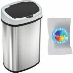 The Best Touchless Trash Can Option: iTouchless 13 Gallon SensorCan Touchless Trash Can