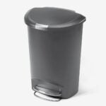 The Best Touchless Trash Can Option: simplehuman 50 Liter / 13 Gallon Semi-Round
