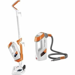 The Best Upholstery Steam Cleaner Option: Bissell PowerFresh Lift-Off Pet Steam Mop, Steamer