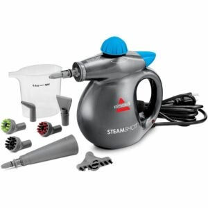 The Best Upholstery Steam Cleaner Option: Bissell Steam Shot 39N7V