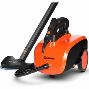 The Best Upholstery Steam Cleaner Option: COSTWAY Multipurpose Steam Cleaner, 19 Accessories