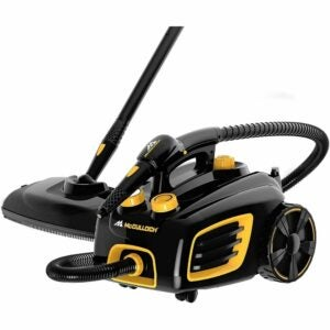 The Best Upholstery Steam Cleaner Option: McCulloch MC1375 Canister Steam Cleaner