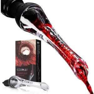 The Best Wine Aerator Option: Corkas Wine Aerator Pourer