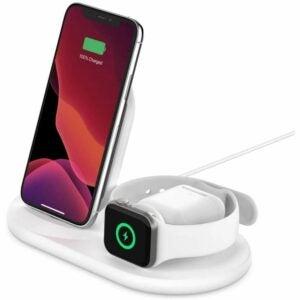 最好的无线充电器的选择:贝尔金3-in-1 Wireless Charger