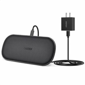 The Best Wireless Chargers Option: CHOETECH Dual Wireless Charger 5 Coils Qi Certified