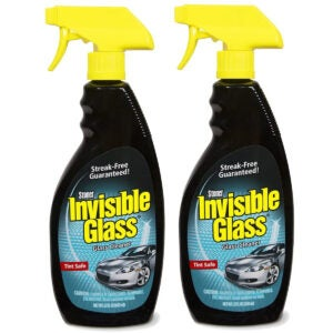 Best Auto Glass Cleaner Options: Invisible Glass 92164-2PK 22-Ounce