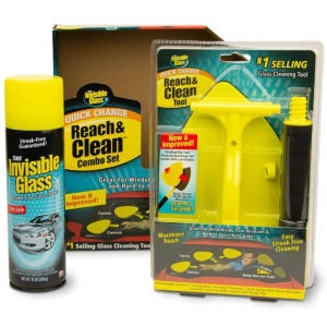 Best Auto Glass Cleaner Options: Invisible Glass 99031 Reach