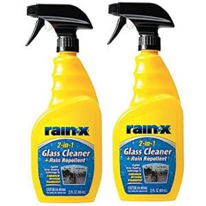 Best Auto Glass Cleaner Options: Rain-X 5071268 2-in-1 Glass Cleaner