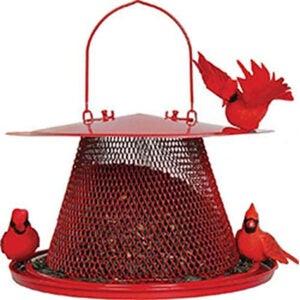 Best Bird Feeder For Cardinals Options: Perky-Pet C00322 Red Cardinal Bird Feeder