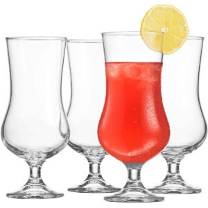 Best Cocktail Glasses Options: Bormioli Rocco (Set of 4) Cocktail Glasses Tulip Shaped