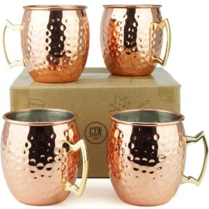 Best Cocktail Glasses Options: PG Moscow Mule Mugs