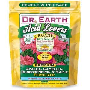 Best Fertilizer for Hydrangeas Options:Dr. Earth 703P Organic 4 Azalea