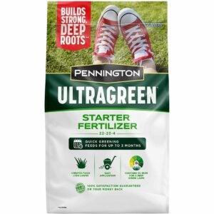 The Best Fertilizer For St Augustine Grass Option: Pennington UltraGreen Starter Lawn Fertilizer, 14 LBS