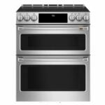 The Best Induction Range Option: Cafe Smart Slide-In Double Oven Induction CHS950P2MS1