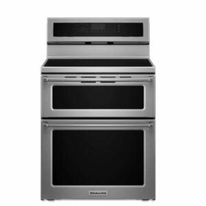 The Best Induction Range Option: KitchenAid Double Oven Electric Induction KFID500ESS