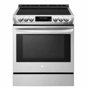 The Best Induction Range Option: LG Smart Slide-In Electric with Convection LSE4616ST