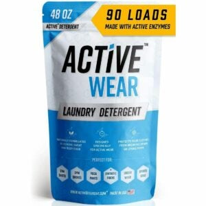 The Best Laundry Detergent for Odors Option: Active Wear Laundry Detergent
