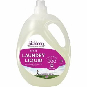 The Best Laundry Detergent for Odors Option: Biokleen Natural Sport Concentrated Laundry Detergent
