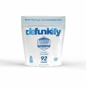 The Best Laundry Detergent for Odors Option: Defunkify Powder Laundry Detergent