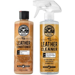 Best Leather Conditioner Options: Chemical Guys SPI_109_16 Leather Cleaner