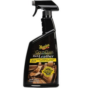 Best Leather Conditioner Options: Meguiar's G10924SP Gold Class Rich Leather Cleaner