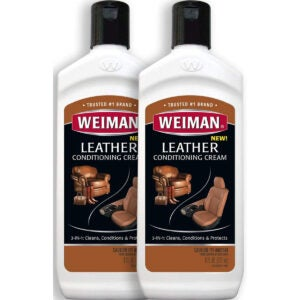 Best Leather Conditioner Options: Weiman 3 in 1 Deep Leather Conditioner Cream