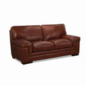 "The Best Leather Sofa Option: Myars 69"" Leather Loveseat"
