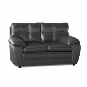 "The Best Leather Sofa Option: Red Barrel Studio Beneduce 62.5"" Pillow Top Loveseat"