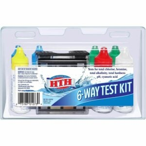 The Best Pool Test Kit Option: HTH 1273 6-Way Test Kit Swimming Pool Chemical Tester