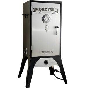 "Best Propane Smoker Option: Camp Chef Smoke Vault, 18"" Vertical Smoker"