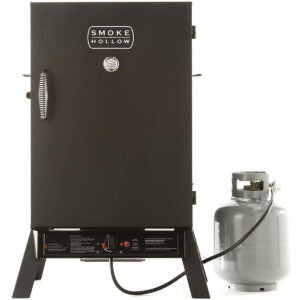 Best Propane Smoker Option: Smoke Hollow PS40B Propane Smoker by Masterbuilt
