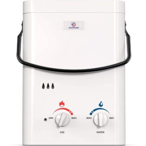 Best Propane Tankless Water Heater Options: Eccotemp L5 1.5 GPM Portable Outdoor Tankless Water Heater