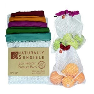Best Reusable Produce Bags Options: Naturally Sensible Reusable Produce Bags