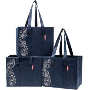 Best Reusable Produce Bags Options: Planet E Reusable Foldable Grocery Bags