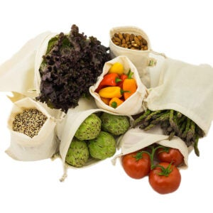 Best Reusable Produce Bags Options: Simple Ecology Muslin Reusable