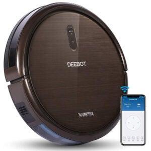 地毯最佳机器人真空选项:Ecovacs Deebot N79S机器人吸尘器