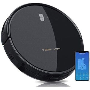 Best Robot Vacuum for Carpet Option: Tesvor Robot Vacuum Cleaner - Strong Suction