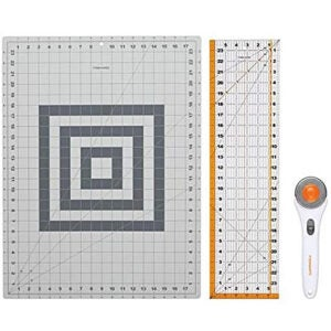 Best Rotary Cutter Options: Fiskars Crafts 952301010 Rotary Sewing Cutting Set