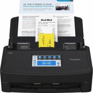 最佳扫描仪选项:富士通扫描扫描多功能云启用扫描仪