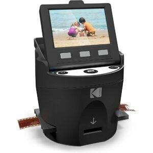 最佳扫描仪选项:柯达Scanza数字胶片和幻灯片扫描仪
