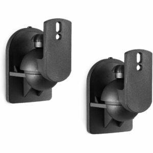 The Best Speaker Wall Mounts Option: WALI Dual Speaker Wall Mount Brackets