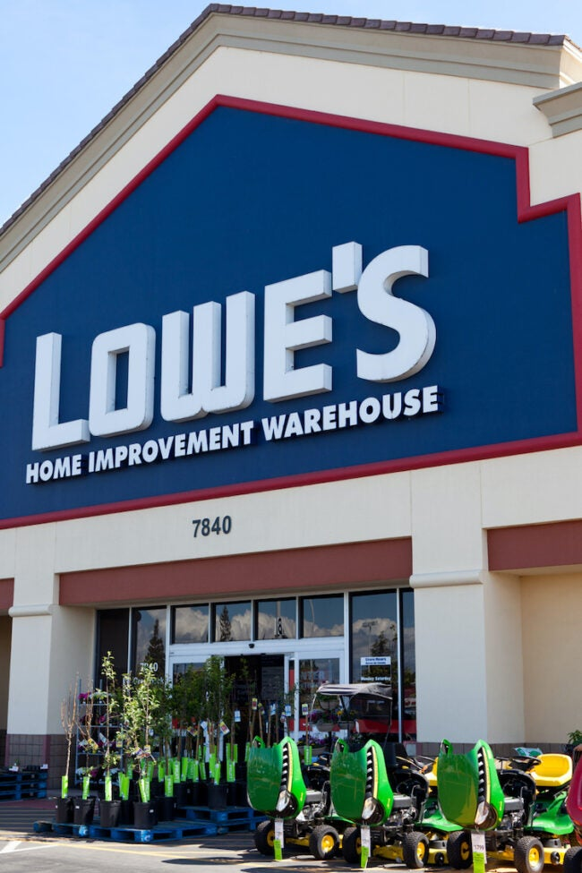 lowes store front