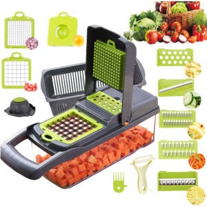 Vegetable Choppers Options: Vegetable Chopper Mandoline Slicer Cutter Chopper