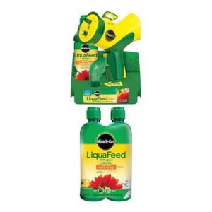 Best Fertilizer For Hibiscus Option: Miracle-Gro Liquafeed Advanced Starter Kit