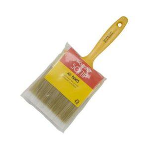 适用于聚氨酯的最佳刷子:Wooster Brush Q3108-4 Paintbrush Softip,4英寸