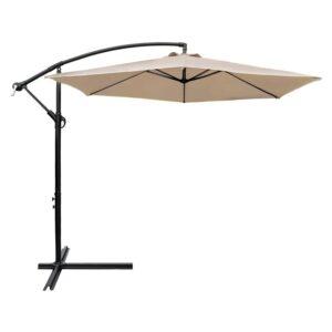 Best Cantilever Umbrella Option: Devoko 10 Ft Patio Offset Cantilever Umbrella