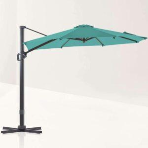 Best Cantilever Umbrella Option: LE CONTE Grenoble 10 ft. Cantilever Umbrella